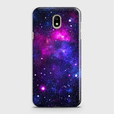 Samsung Galaxy J3 Pro - Dark Galaxy Stars Modern Printed Hard Case