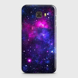Samsung C5 - Dark Galaxy Stars Modern Printed Hard Case