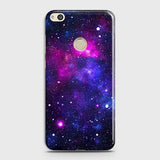 Huawei Honor 8 Lite - Dark Galaxy Stars Modern Printed Hard Case