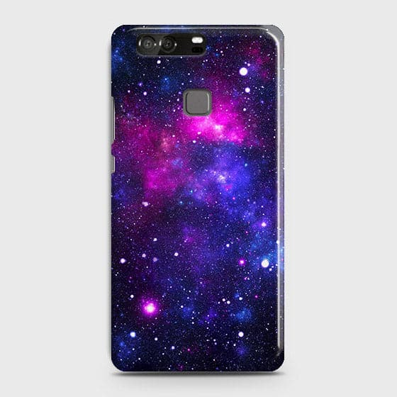 Huawei P9 - Dark Galaxy Stars Modern Printed Hard Case
