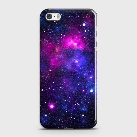 iPhone 5C - Dark Galaxy Stars Modern Printed Hard Case