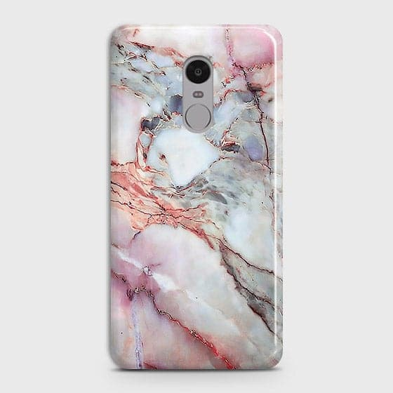 Xiaomi Redmi 4X - Violet Sky Marble Trendy Printed Hard Case