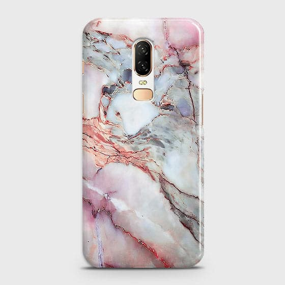 Violet Sky Marble 3D Trendy Case For OnePlus 6