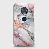 Violet Sky Marble 3D Trendy Case For Motorola E5 Plus