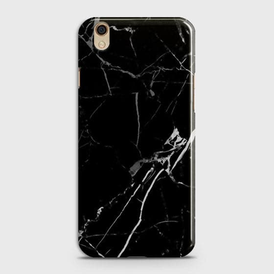 Black Modern Classic Marble Case For Oppo A37