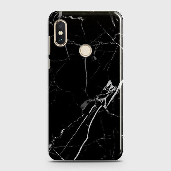 Black Modern Classic Marble Case For Xiaomi Redmi Y2