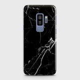 Black Modern Classic Marble Case For Samsung Galaxy S9 Plus