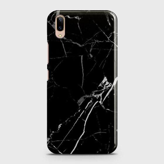 Black Modern Classic Marble Case For Vivo V11 Pro