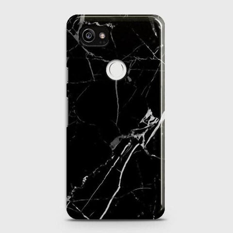 Black Modern Classic Marble Case For Google Pixel 2 XL