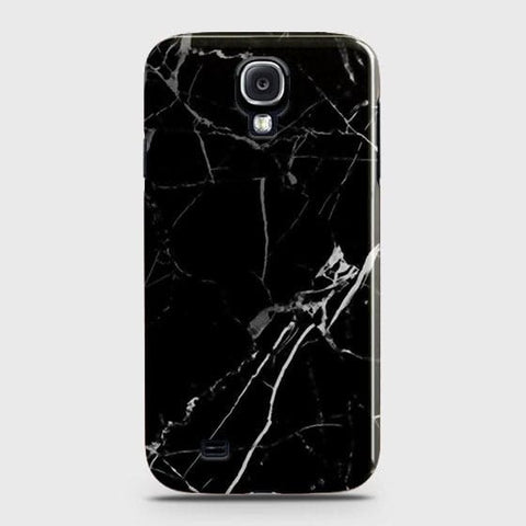 Black Modern Classic Marble Case For Samsung Galaxy S4