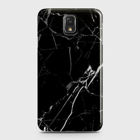 Black Modern Classic Marble Case For Samsung Galaxy Note 3