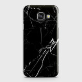 Printed Black Modern Classic Marble Case with Life Time Color Guarantee For Samsung A310