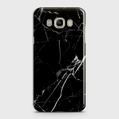 Black Modern Classic Marble Case For Samsung Galaxy J710