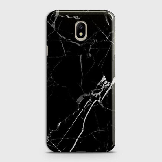 Printed Black Modern Classic Marble Case with Life Time Color Guarantee For Samsung Galaxy J5 2017