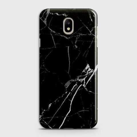 Black Modern Classic Marble Case For Samsung Galaxy J3 Pro