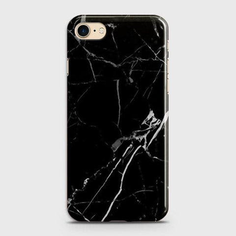 Black Modern Classic Marble Case For iPhone 7 & iPhone 8