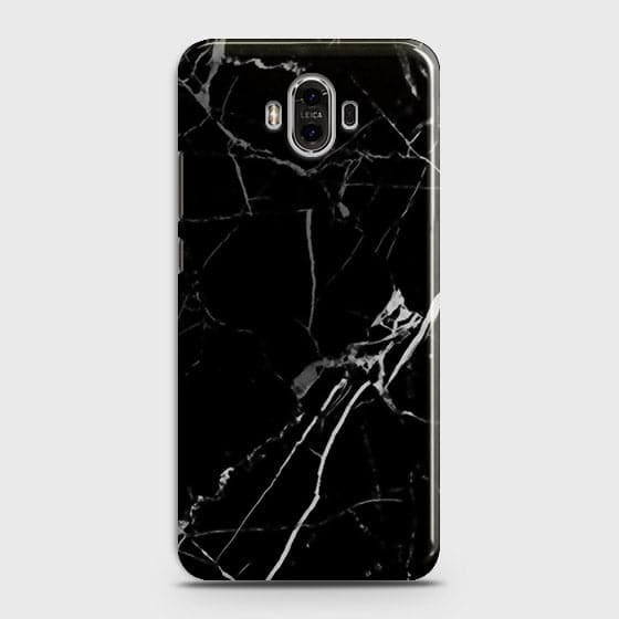 Black Modern Classic Marble Case For Huawei Mate 9