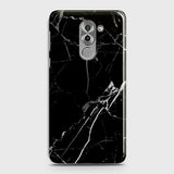 Printed Black Modern Classic Marble Case with Life Time Color Guarantee For Huawei Honor 6X