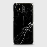 Black Modern Classic Marble Case For Huawei Mate 10