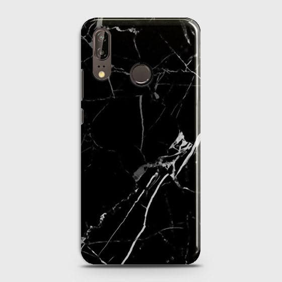 Black Modern Classic Marble Case For Huawei P20