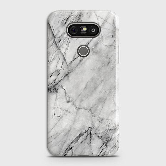 Trendy White Marble Case For LG G5