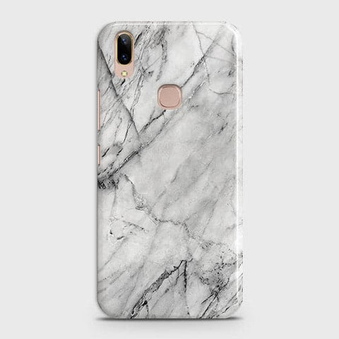 Trendy White Marble Case For Vivo V9 / V9 Youth