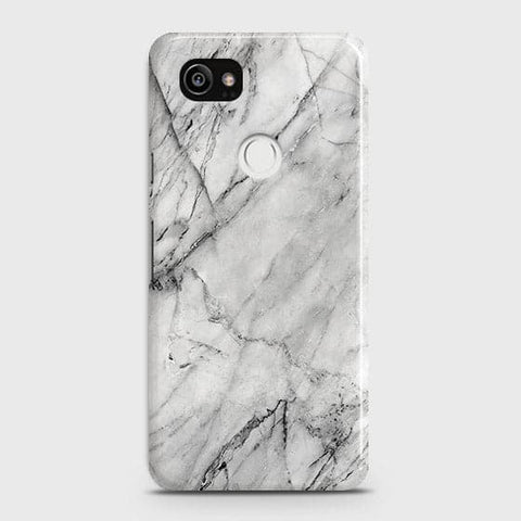 Trendy White Marble Case For Google Pixel 2 XL