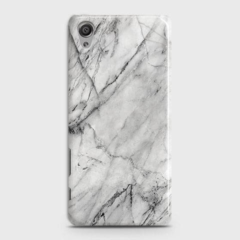 Trendy White Marble Case For Sony Xperia XA