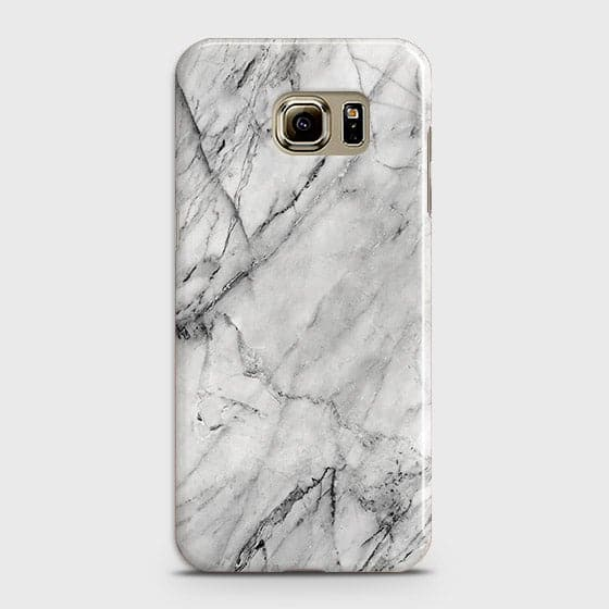 Samsung Galaxy Note 5 - Trendy White Marble Printed Hard Case