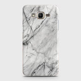 Samsung Galaxy Grand Prime / Grand Prime Plus / J2 Prime - Trendy White Marble Printed Hard Case