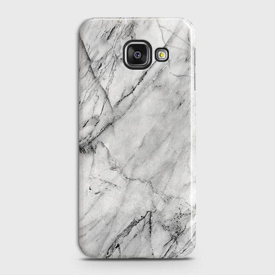 Samsung Galaxy A510 (A5 2016) - Trendy White Marble Printed Hard Case