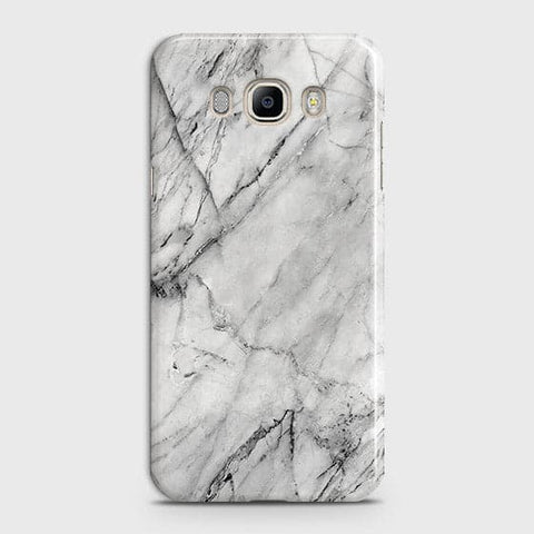 Trendy White Marble Case For Samsung Galaxy J510