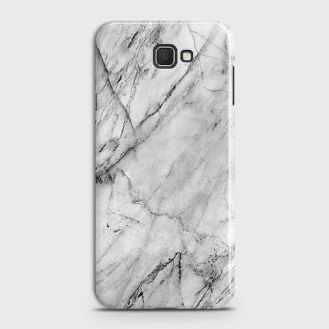 Trendy White Marble Case For Samsung Galaxy J7 Prime