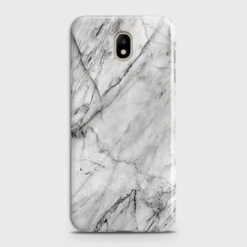 Trendy White Marble Case For Samsung Galaxy J3 Pro