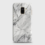 Trendy White Marble Case For Samsung A8 Plus 2018