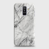 Trendy White Marble Case For Samsung A6 Plus 2018