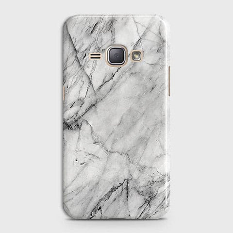 Trendy White Marble Case For Samsung Galaxy J1 2016 / J120