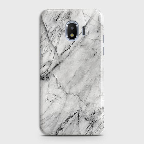 Trendy White Marble Case For Samsung Galaxy J2 Pro 2018