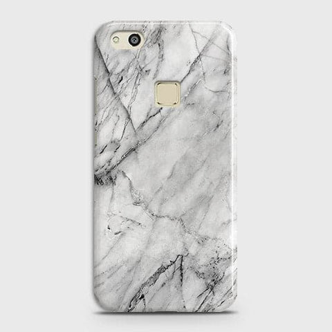 Trendy White Marble Case For Huawei P10 Lite