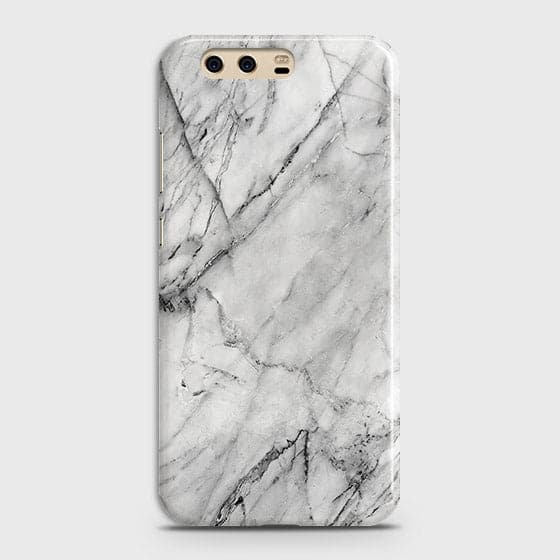 Trendy White Marble Case For Huawei P10