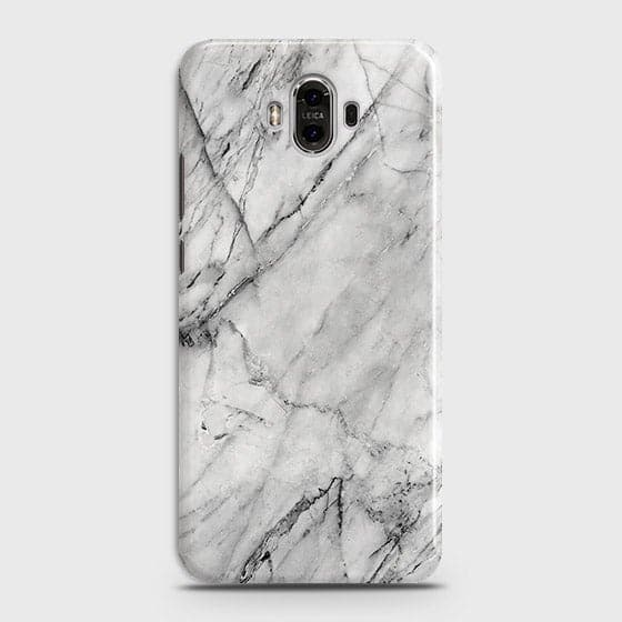 Trendy White Marble Case For Huawei Mate 9