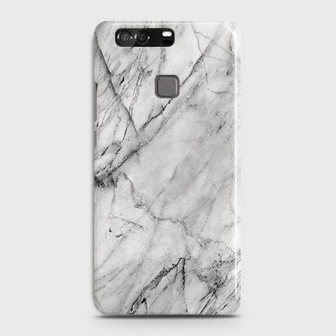 Trendy White Marble Case For Huawei P9
