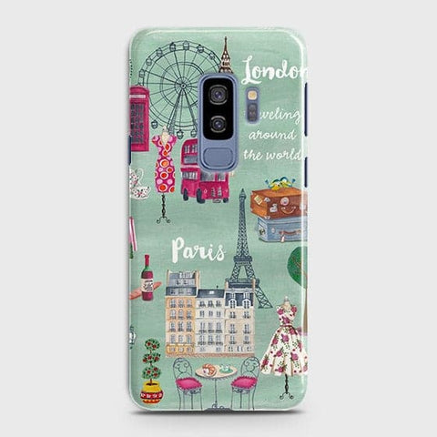 London, Paris, New York Modern Case For Samsung Galaxy S9 Plus