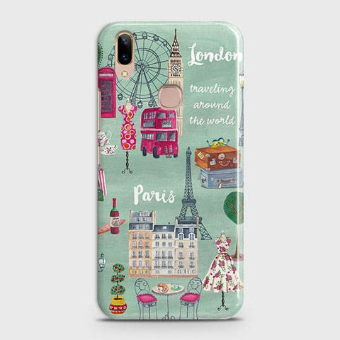 London, Paris, New York Modern Case For Vivo V9 / V9 Youth