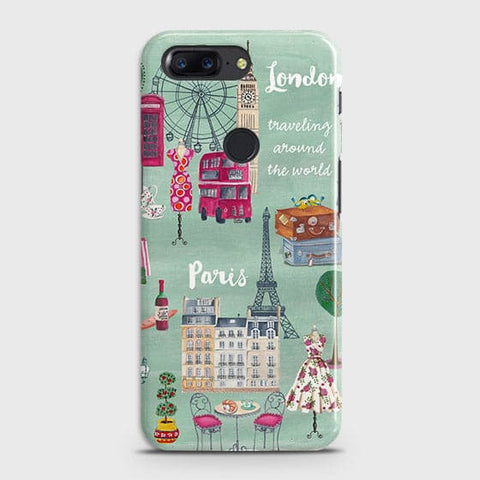 London, Paris, New York Modern Case For OnePlus 5T
