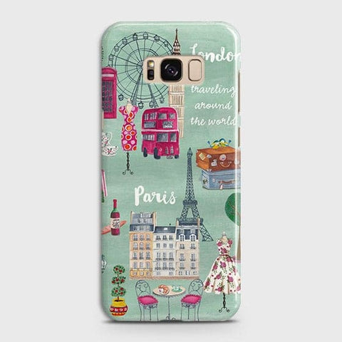 London, Paris, New York Modern Case For Samsung Galaxy S8 Plus
