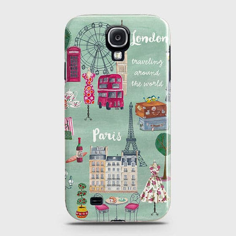 Samsung Galaxy S4 - London, Paris, New York Modern Printed Hard Case With Life Time Colors Guarantee