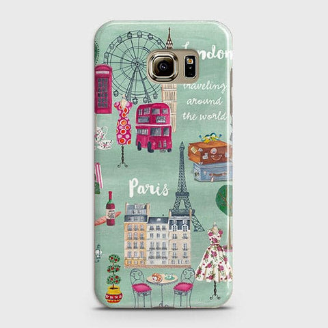 London, Paris, New York Modern Case For Samsung Galaxy Note 5