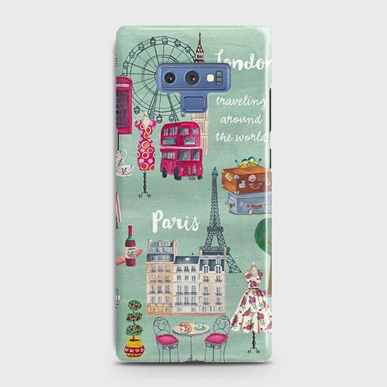 London, Paris, New York Modern Case For Samsung Galaxy Note 9