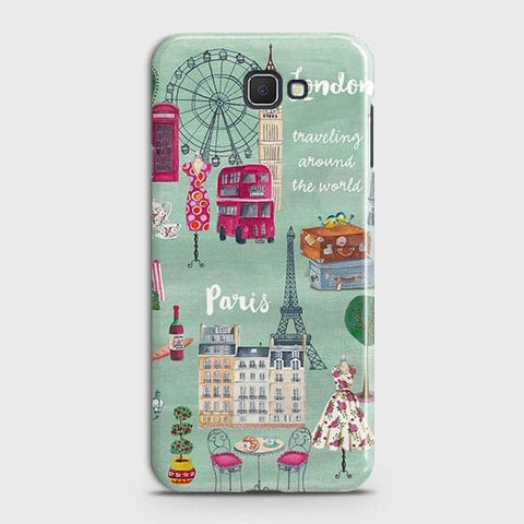 London, Paris, New York Modern Case For Samsung Galaxy J7 Prime